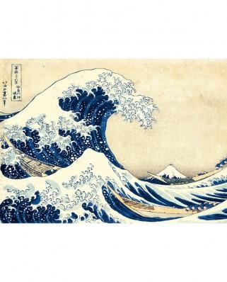 Puzzle Clementoni - Katsushika Hokusai: The Wave, 1.000 piese (60900)