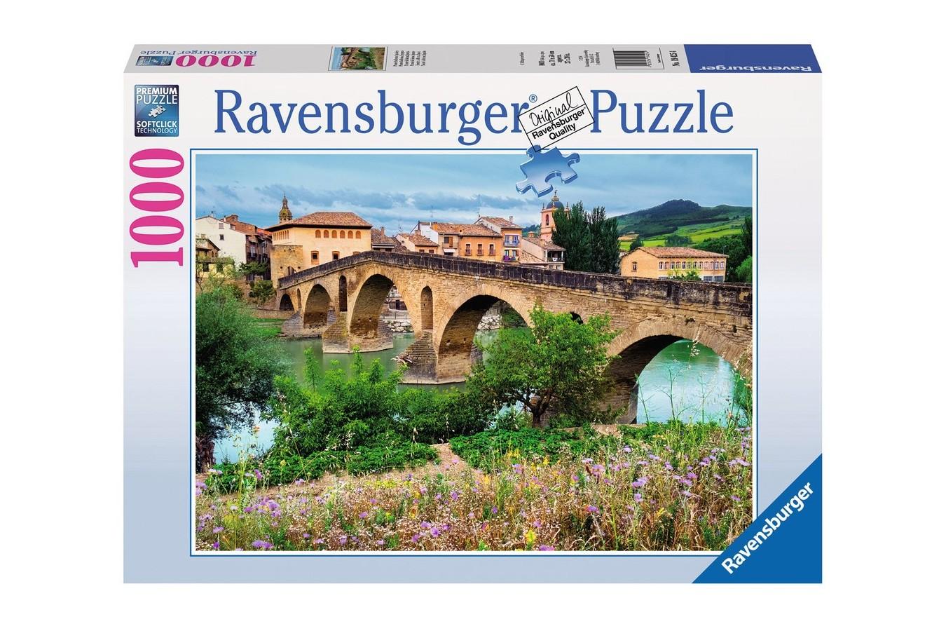 Puzzle Ravensburger - Peisaj Spaniol, 1000 piese (19425)