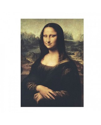 Puzzle Clementoni - Leonardo Da Vinci: The Mona Lisa, 1000 piese (662)