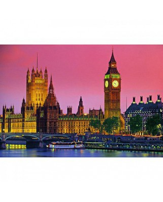 Puzzle Clementoni - London by Night, 500 piese (4915)