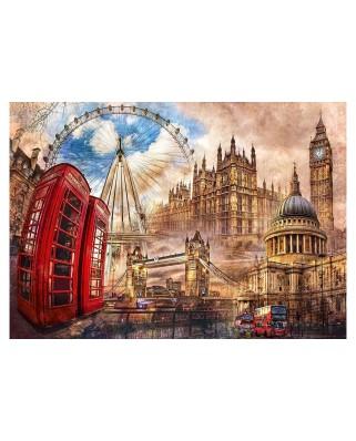 Puzzle Clementoni - London, 1.500 piese (65242)
