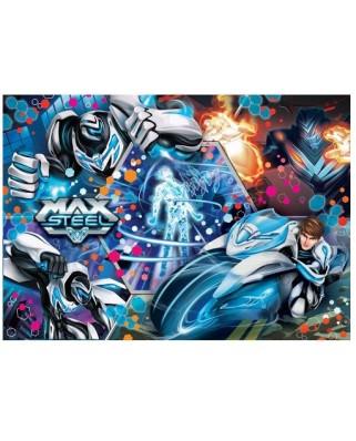 Puzzle Clementoni - Max Steel, 104 piese cu efect 3D (47492)