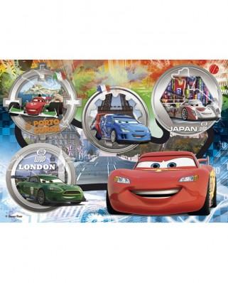Puzzle Clementoni - Maxi : Cars, 24 piese XXL (12370)