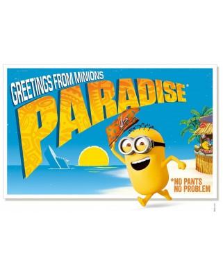 Puzzle Clementoni - Minions - Paradise, 500 piese (60878)