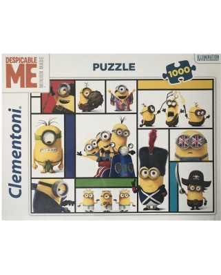 Puzzle Clementoni - Minions, 1.000 piese (60921)