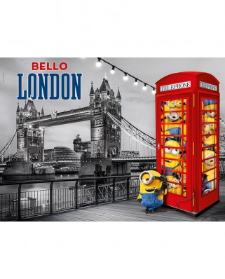 Puzzle Clementoni - Minions, 1.000 piese (60924)