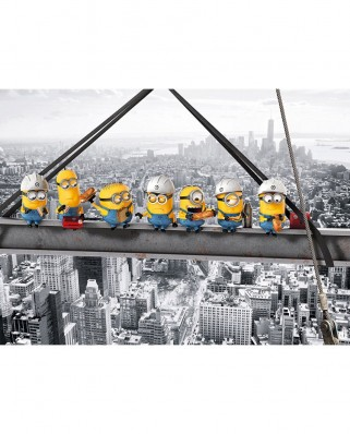 Puzzle Clementoni - Minions, 1.000 piese (62403)