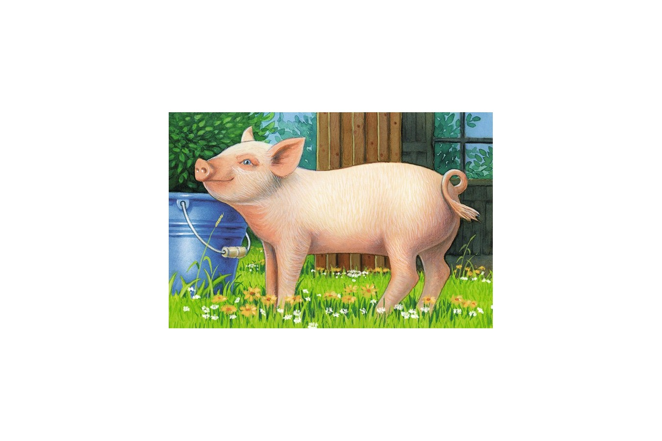 Puzzle Ravensburger - Animale Domestice, 6 piese (07408)