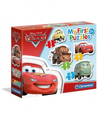 Puzzle Clementoni - My First Puzzles - Cars, 3/6/9/12 piese (62363)