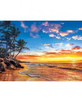 Puzzle Clementoni - Paradise Beach, 500 piese (62318)