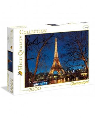 Puzzle Clementoni - Paris, 2000 piese (50560)