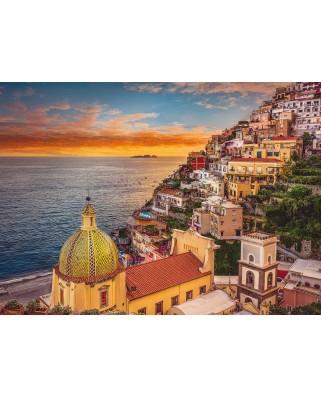 Puzzle Clementoni - Positano, Italy, 1.000 piese (62424)
