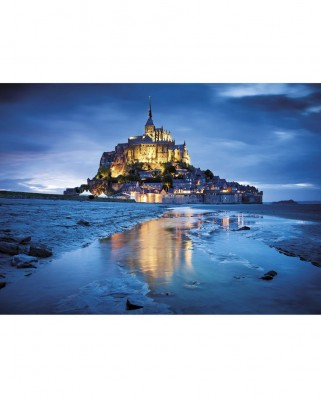 Puzzle Clementoni - Saint Michael's Mount, France, 1.500 piese (12536)