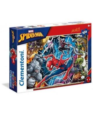 Puzzle Clementoni - Spiderman, 104 piese XXL (62302)