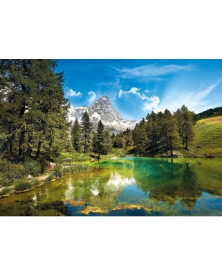 Puzzle Clementoni - The Blue Lake, 1.500 piese (60872)