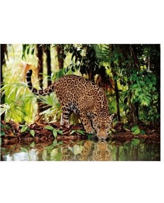 Puzzle Clementoni - The Leopard, 2.000 piese (6330)