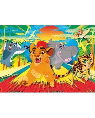Puzzle Clementoni - The Lion Guard, 24 piese XXL (57126)