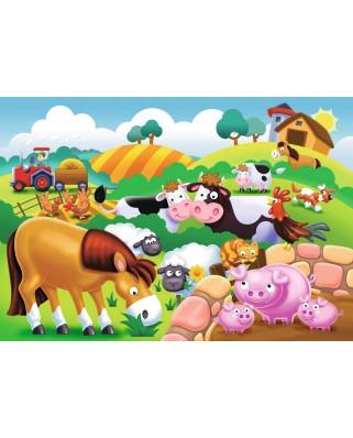 Puzzle Ravensburger - Animale La Ferma, 12 piese (05609)