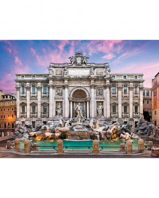 Puzzle Clementoni - Trevi Fountain, 500 piese (62311)