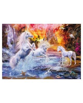 Puzzle Clementoni - Unicorns, 1.500 piese (62396)