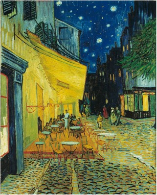 Puzzle Clementoni - Vincent Van Gogh: Cafe Terrace at Night, 1.000 piese (658)