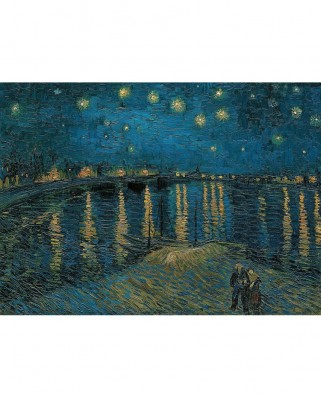 Puzzle Clementoni - Vincent Van Gogh: Starry Night, 1.000 piese (54797)