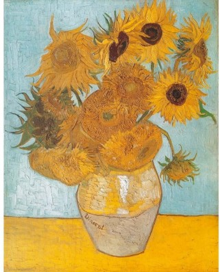 Puzzle Clementoni - Vincent Van Gogh: The Sunflowers, 1.000 piese (657)