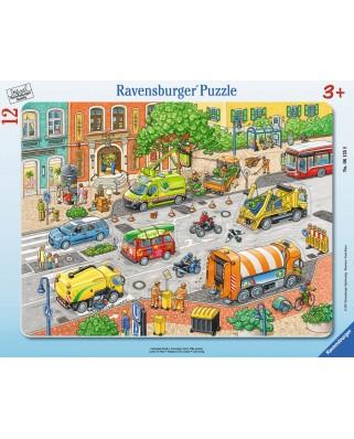 Puzzle Ravensburger - Oras Plin De Viata, 12 piese (06135)