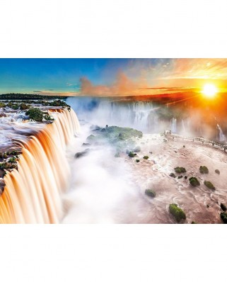 Puzzle Clementoni - Waterfall, 1000 piese (60907)