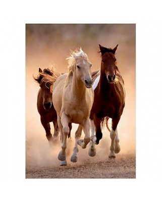 Puzzle Clementoni - Wild Horses Galloping, 1000 piese (6309)