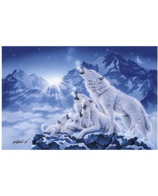 Puzzle Clementoni - Wolves, 1.000 piese (49790)