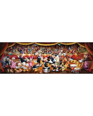 Puzzle panoramic Clementoni - Disney Orchestra, 1.000 piese (62445)