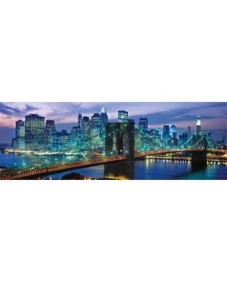 Puzzle panoramic Clementoni - New York, 1.000 piese (62414)