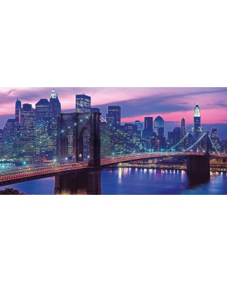 Puzzle panoramic Clementoni - New York, 13.200 piese (54604)