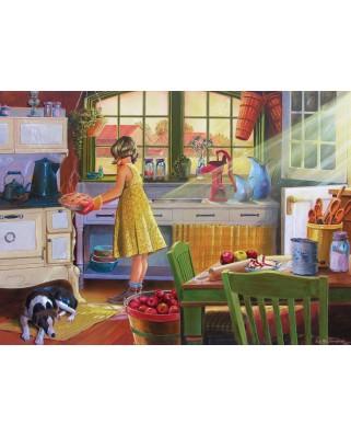Puzzle Cobble Hill - Apple Pie Kitchen, 500 piese XXL (65014)