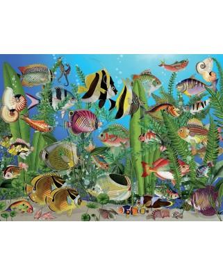 Puzzle Cobble Hill - Aquarium, 275 piese XXL (65020)