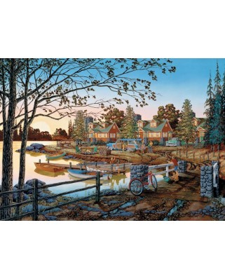Puzzle Cobble Hill - Away From It All, 500 piese XXL (64938)