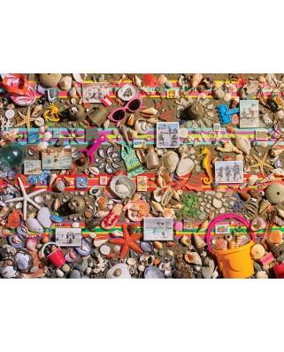Puzzle Cobble Hill - Beach Scene, 1.000 piese (64990)