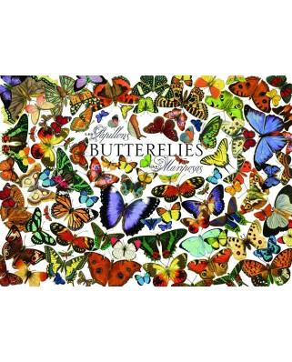 Puzzle Cobble Hill - Butterflies, 1.000 piese (44590)