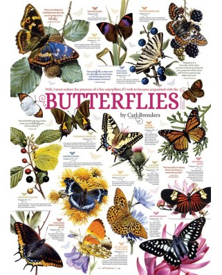 Puzzle Cobble Hill - Butterfly Collection, 1.000 piese (64962)