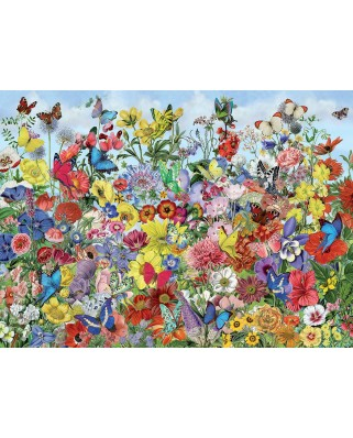 Puzzle Cobble Hill - Butterfly Garden, 1.000 piese (64978)