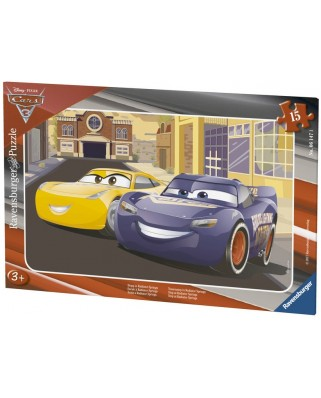 Puzzle Ravensburger - Cars 3, 15 piese (06147)