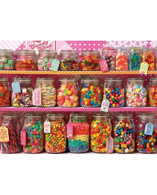 Puzzle Cobble Hill - Candy Counter, 350 piese XXL (58296)