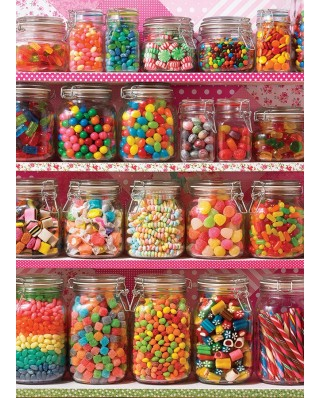 Puzzle Cobble Hill - Candy Shelf, 500 piese XXL (65009)