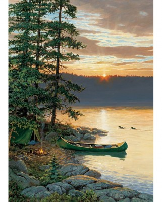 Puzzle Cobble Hill - Canoe Lake, 500 piese XXL (65016)