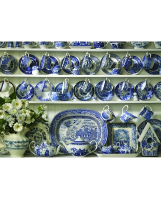 Puzzle Cobble Hill - China Hutch, 1.000 piese (44609)
