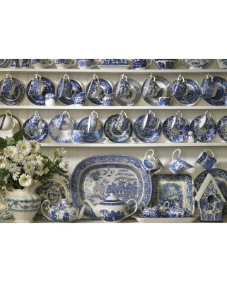 Puzzle Cobble Hill - China Hutch, 1.000 piese (51160)