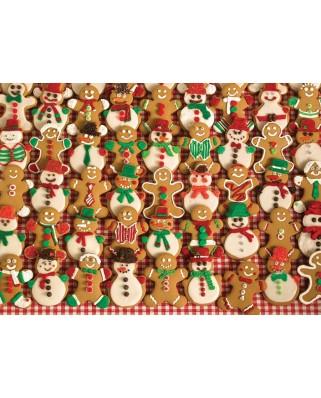 Puzzle Cobble Hill - Christmas Bakesale, 500 piese XXL (61357)