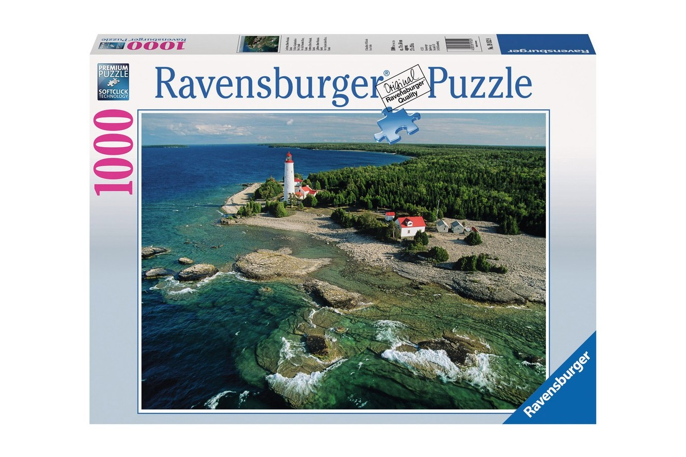 Puzzle Ravensburger - Peninsula Bruce, 1.000 piese (19152)