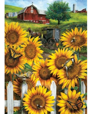 Puzzle Cobble Hill - Country Paradise, 500 piese XXL (65018)